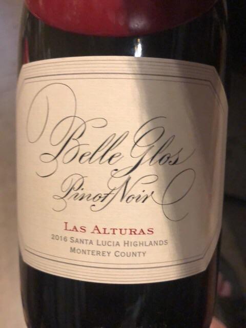Belle Glos - Las Alturas Vineyard Pinot Noir - 2016