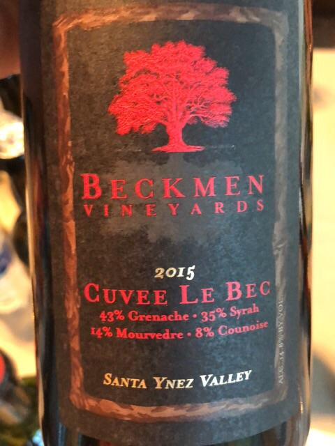 Beckmen Vineyards - Cuvee Le Bec - 2015