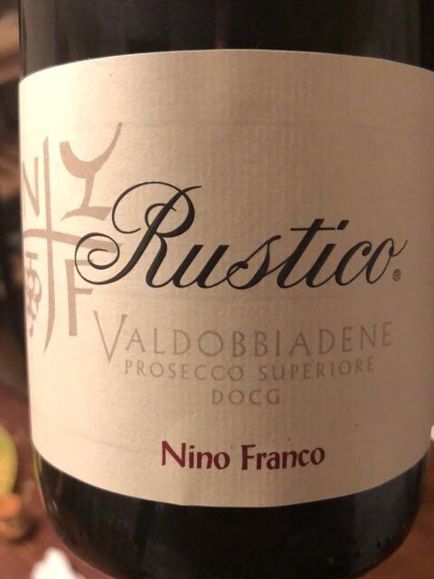Nino Franco - Rustico Valdobbiadene Prosecco Superiore - N.V.