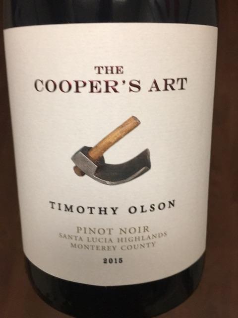 Coopers Art - Monterey Pinot Noir - 2015