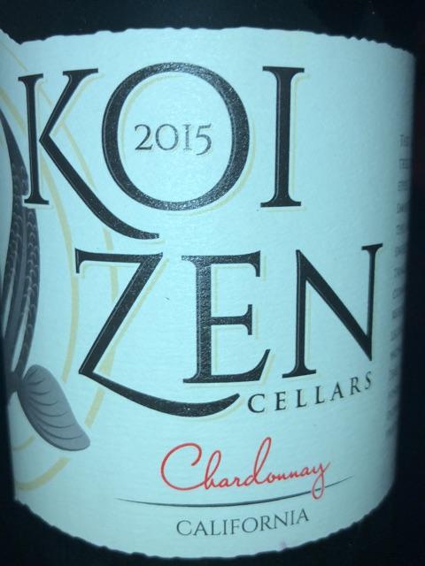 Koi Zen - Chardonnay Lodi - 2015