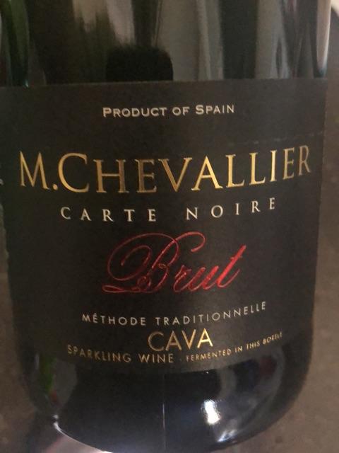 M. Chevallier - Carte Noire Cava Methode Traditionnelle - N.V.