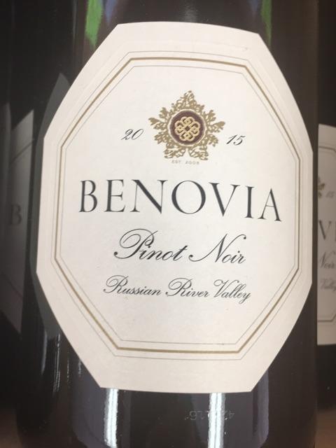 Benovia - Bella Una Pinot Noir - 2014