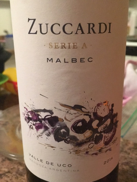 Zuccardi - Serie A Malbec - 2014