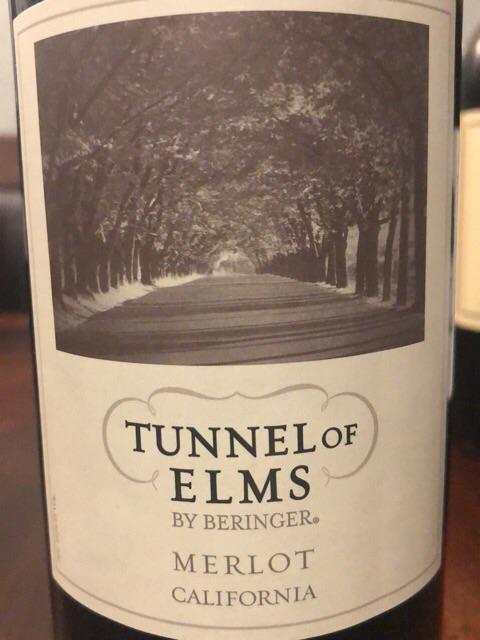 Tunnel of Elms - Merlot - 2016