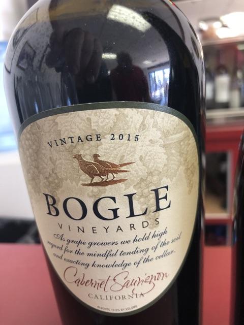 Bogle - Cabernet Sauvignon - 2015
