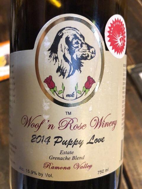 Woof 'n Rose - Puppy Love Grenache Blend - 2014
