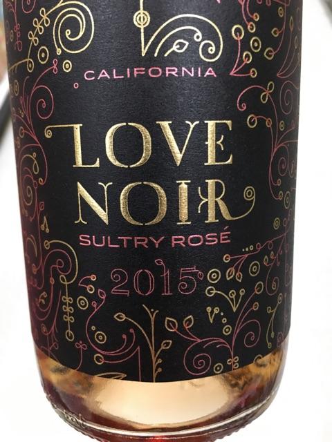 Love Noir - Sultry Rosé - 2015