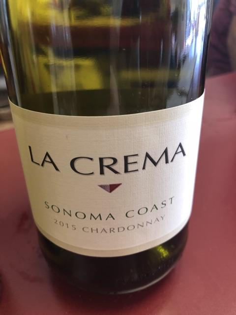 La Crema - Sonoma Coast Chardonnay - 2015