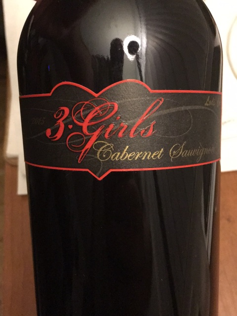 Oak Ridge - 3 Girls Cabernet Sauvignon - 2015