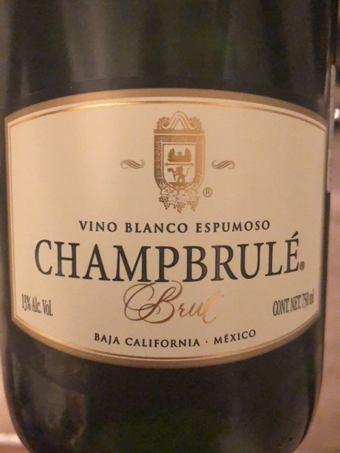Champbrule - Baja California Blanco Espumoso - N.V.