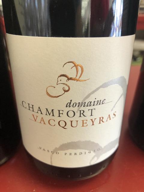 Domaine Chamfort - Vacqueyras - 2013