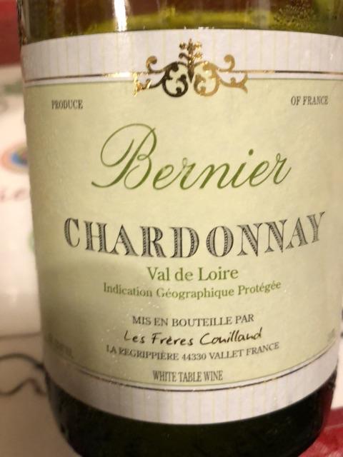 Frères Couillaud - Bernier Val De Loire Chardonnay - 2014