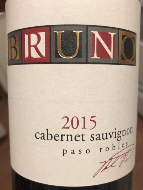 Richard Bruno - Cabernet Sauvignon - 2015