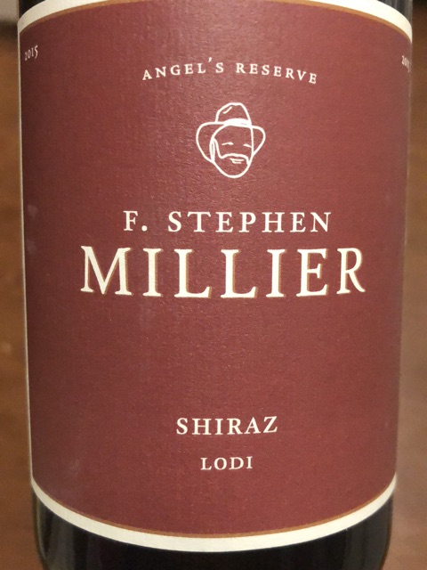 F. Stephen Millier - Angel's Reserve Shiraz - 2016