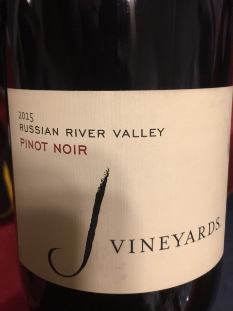 J Vineyards - Pinot Noir - 2015