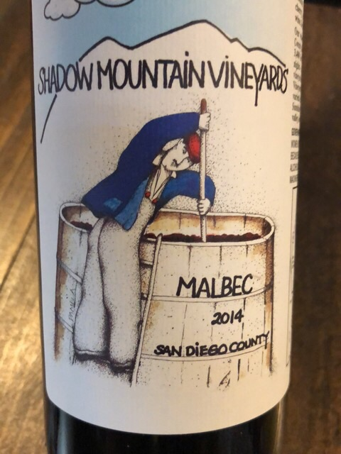 Shadow Mountain - Malbec San Diego County - 2014