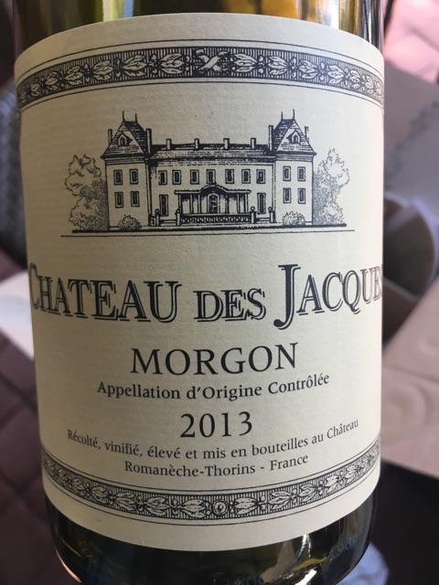 Louis Jadot - Château des Jacques Morgon - 2013