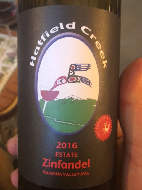 Hatfield Creek Vineyards - Zinfandel - 2016