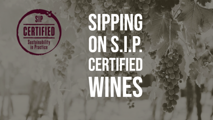 Sipping on S.I.P. Certified Wines