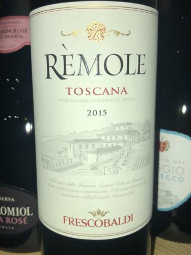 Frescobaldi - Rèmole Rosso - 2015