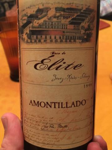 Dios Baco - Élite Amontillado Jerez-Xérès Sherry - N.V.