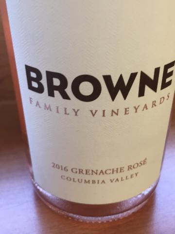 Browne - Grenache Rosé - 2016