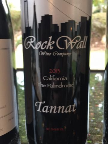Rock Wall - The Palindrome Tannat - 2013