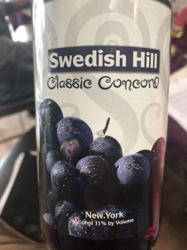 Swedish Hill - Classic Concord - N.V.