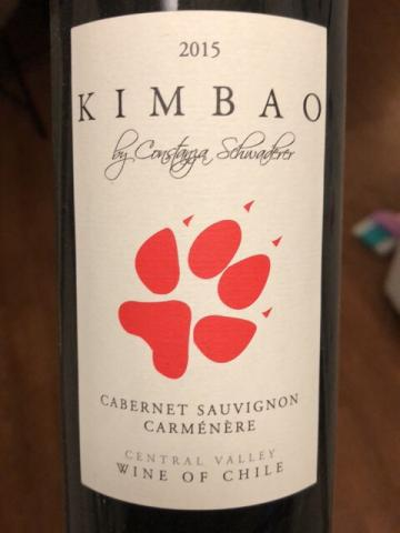 Garcia + Schwaderer - Kimbao Cabernet Sauvignon - Carménère  - 2015