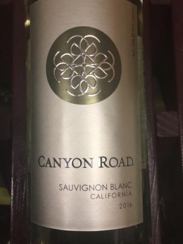 Canyon Road - Sauvignon Blanc - 2016