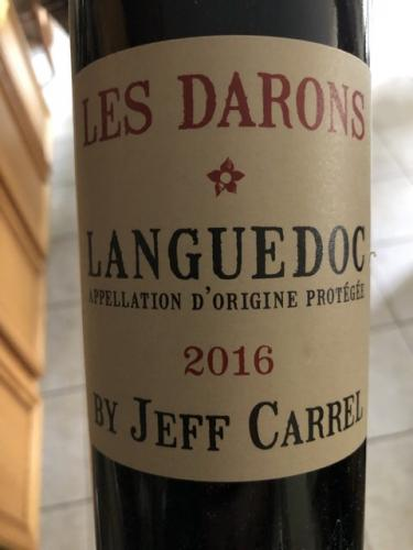 Jeff Carrel - Les Darons Rouge - 2016