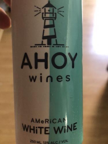 Ahoy Wines - American White - N.V.