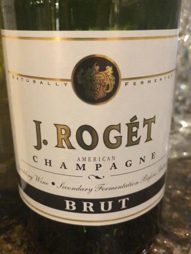 J. Roget - American Champagne Brut - N.V.