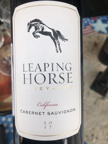 Leaping Horse - Cabernet Sauvignon - 2017