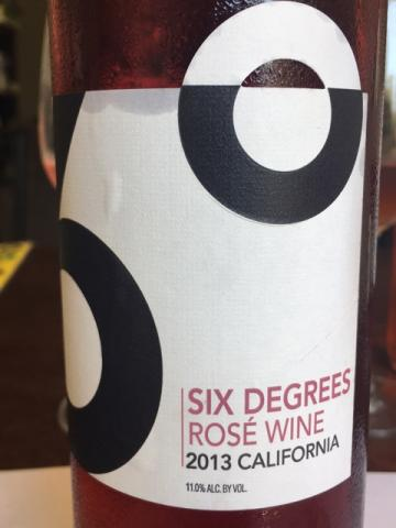 Six Degrees  - Rosé of Pinot Noir - 2013