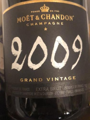 Moët & Chandon - Grand Vintage Brut Champagne - 2009