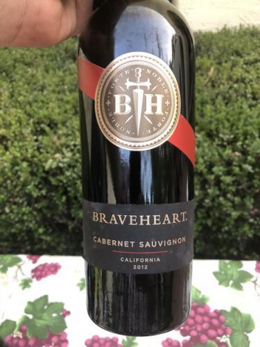 Braveheart - Cabernet Sauvignon - 2012