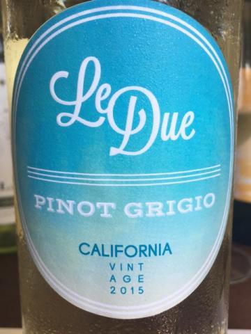Le Due - Pinot Grigio - 2015