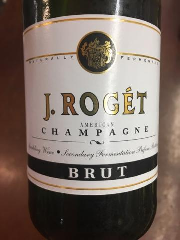 J. Roget - American Champagne Brut - 2008