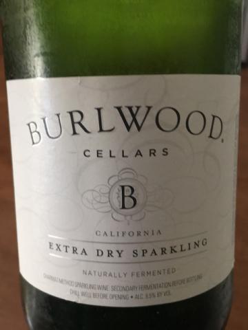 Burlwood - Extra Dry Sparkling - 2014