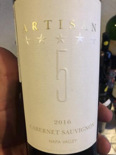 Artisan 5 - Cabernet Sauvignon - 2016