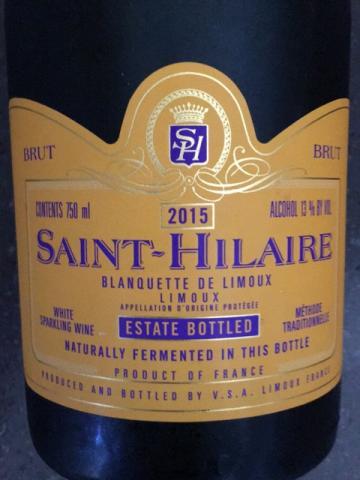 Saint-Hilaire - Blanquette de Limoux Brut - 2014