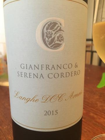 Gianfranco & Serena Cordero - Langhe Arneis - 2015