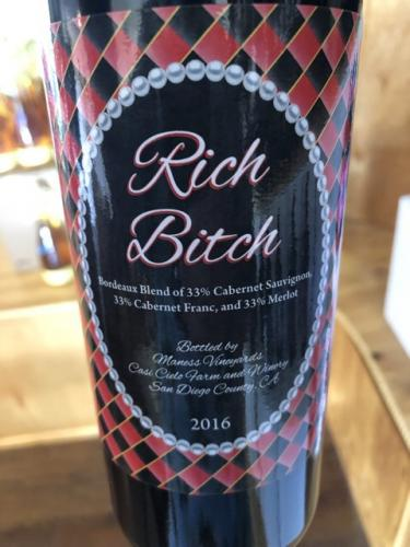 Casi Cielo Winery - Rich Bitch - 2016