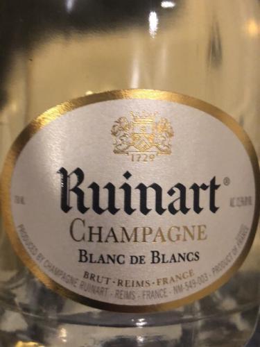Ruinart - Blanc de Blancs Brut Champagne - N.V.