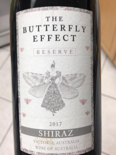 The Butterfly Effect - Reserve Shiraz - 2017