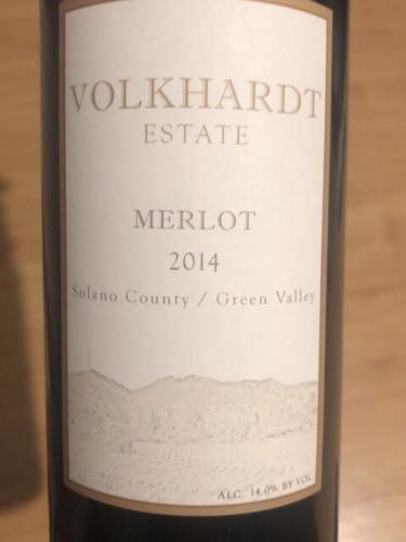 Volkhardt - Merlot - 2014