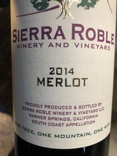 Sierra Roble - Merlot - 2014