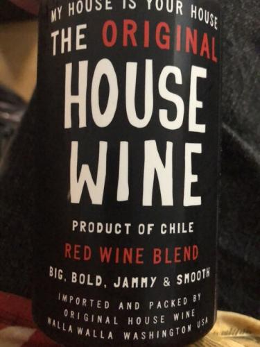 Original House Wine - Red Blend - 2013